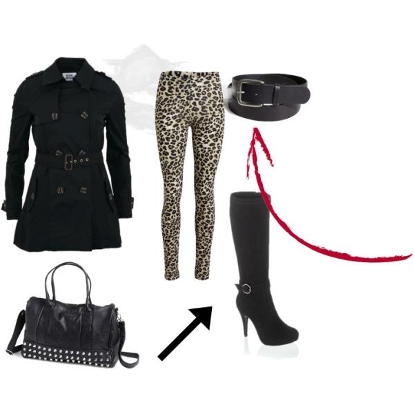 leopard..winter..