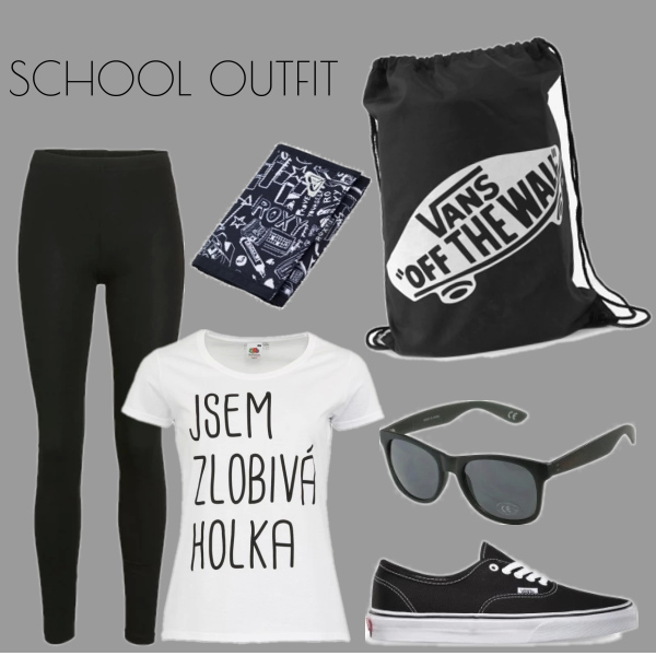 School outfit :3
