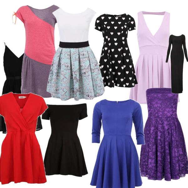 šaty in