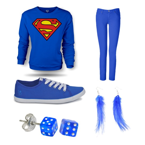 Blue and Superman ♥