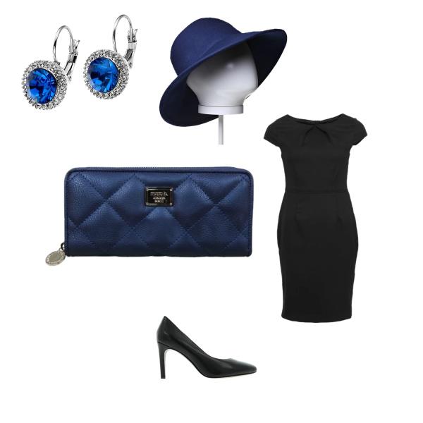 modrá elegance