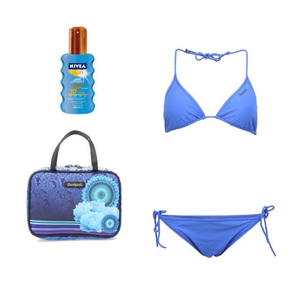 plavky-modrá