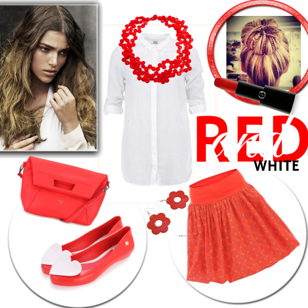 Red an white