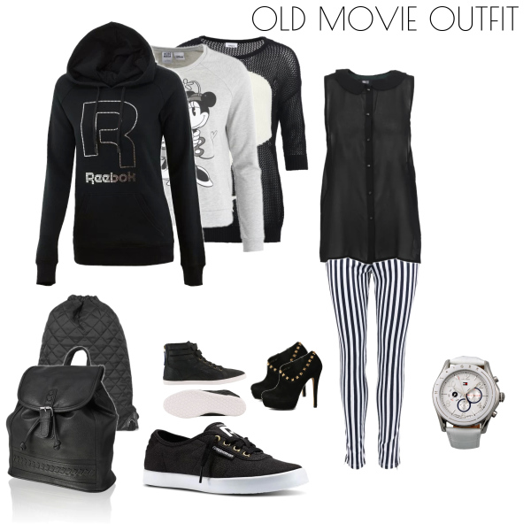 Old movie outfit