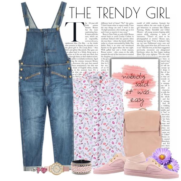 the trendy girl