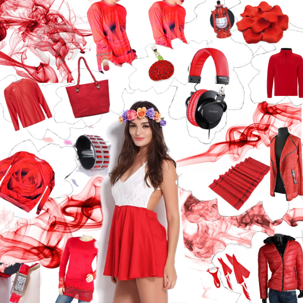 Red All Over - Trendfarbe: Rot