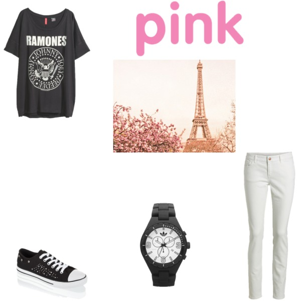 Pink is cool and black is WOW!