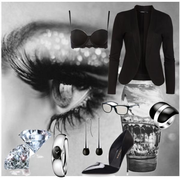 Black*White Dress code
