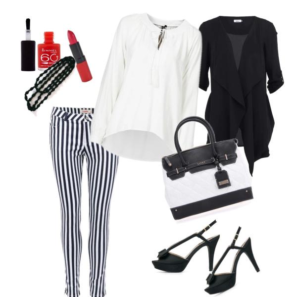 tunika in black&white
