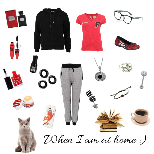 When I am at home :)