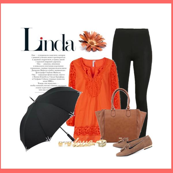 Tunika a deštník