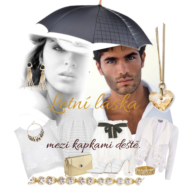 Letní láska mezi kapkami deště.
