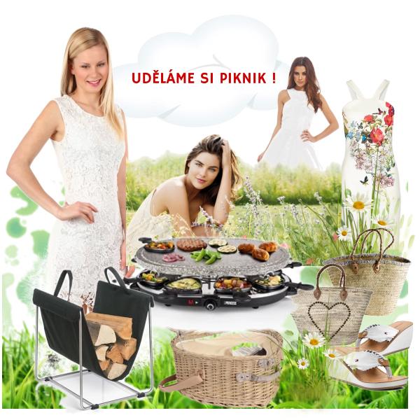 piknik v přírodě,
