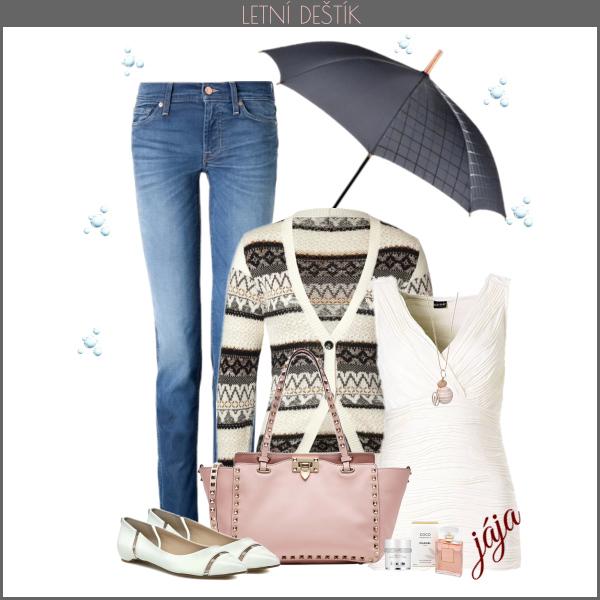 letní láska mezi kapkami deště