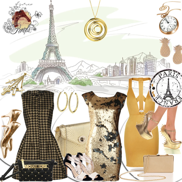 Paris and gold !