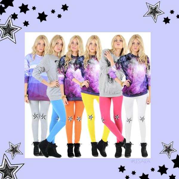 Galaktisch Cool - farbenfroh, mutig & trendbewusst