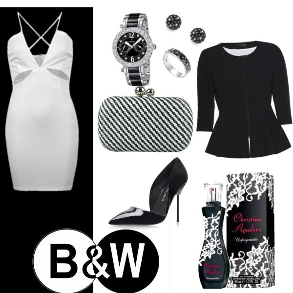 Black & White sexy look