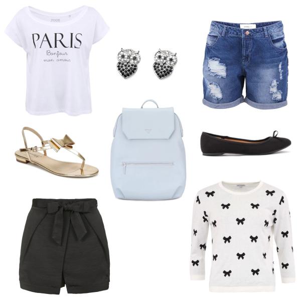dvojitá letní pařížská kombinace
