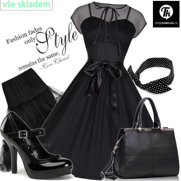 černá lady