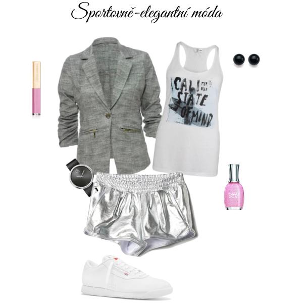 Sportovně-elegantní móda