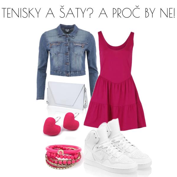tenisky a šaty