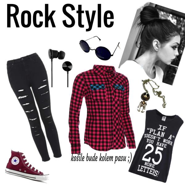 Trošku rock style :P