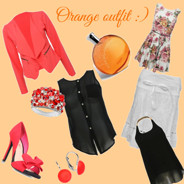 Orange outfit :)