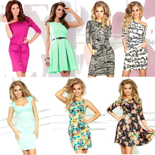 SAF šaty nová kolekce
