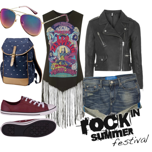 rock in summer