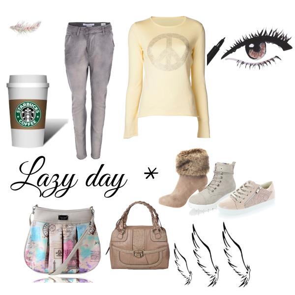 Líný den