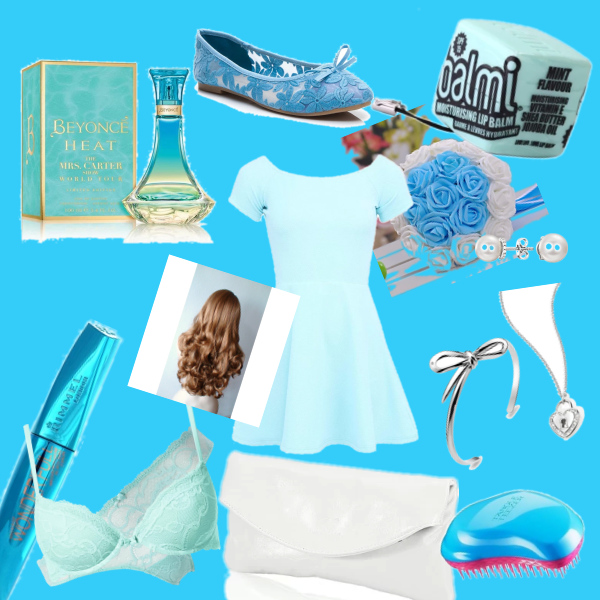 Cute blue set