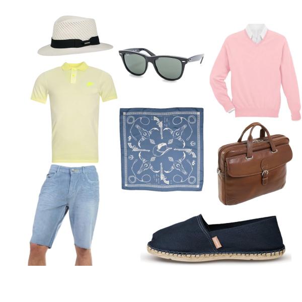 Letní pánský outfit