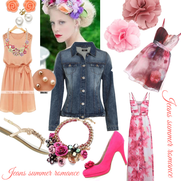 Jeans summer romance