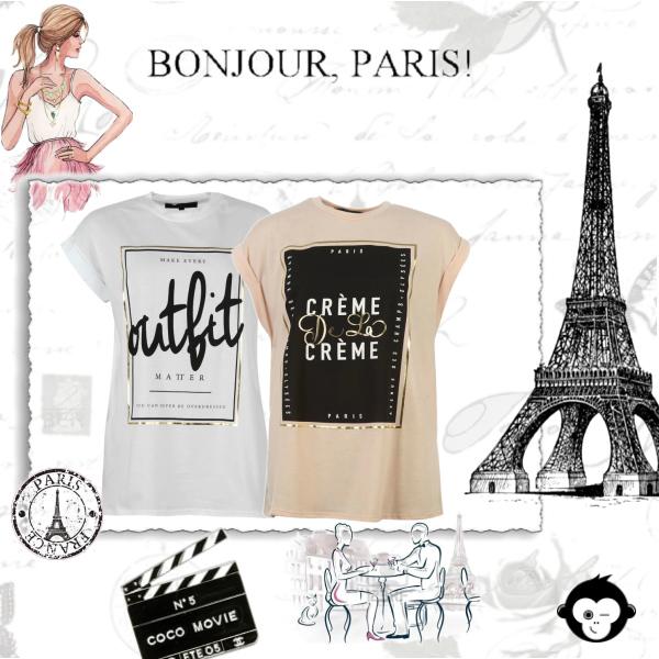 Bonjour mademoiselle. Bienvenue á Paris!