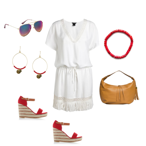 Šaty s třásněmi