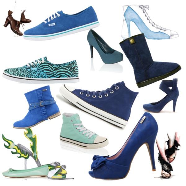 Boty...Hlavně modré...