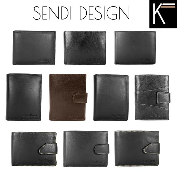 Pánské peněženky Sendi Design