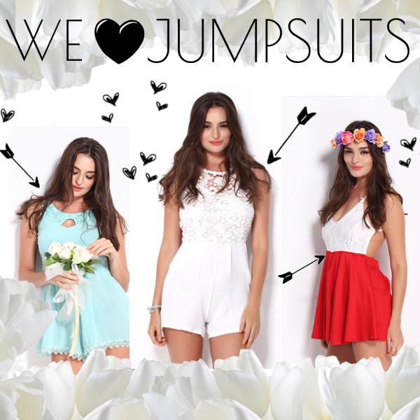 Wir lieben Jumpsuits!