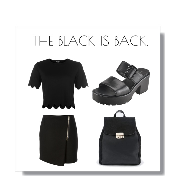 The black is back.