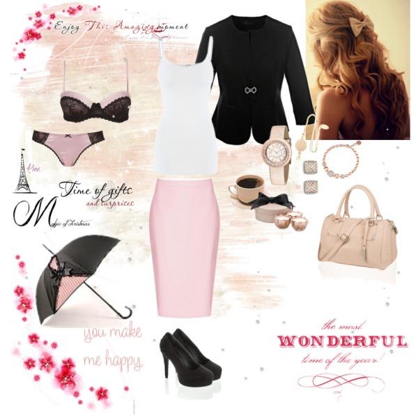 Pink & Black Time