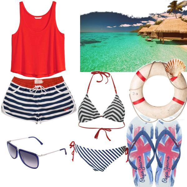 Plážoví outfit