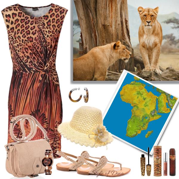 Africký turista