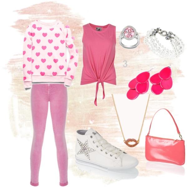 růžovobílá