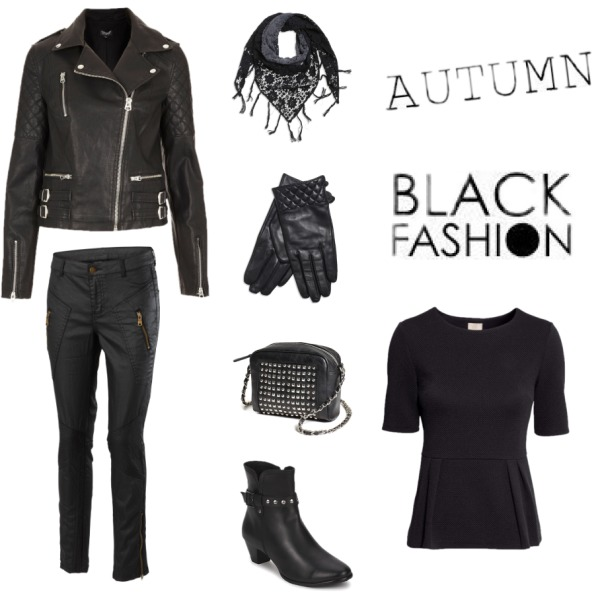 Autumn black fashion
