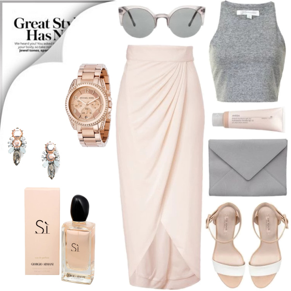 Spring Outfits in Baby Pink / via Pinterest