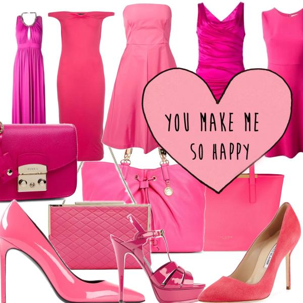 Pink makes me happy....