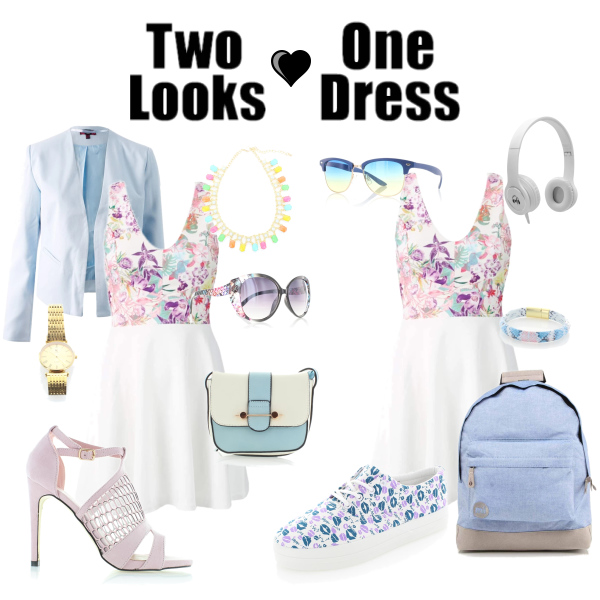 Two looks - One dress