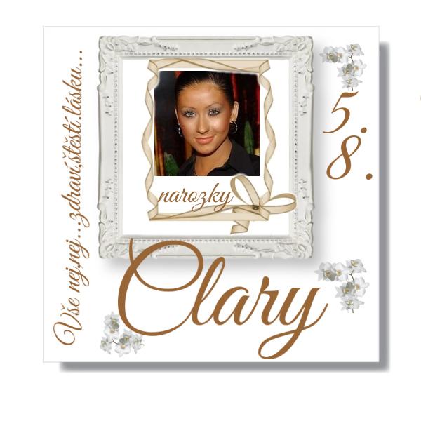 Narozeniny Clary...