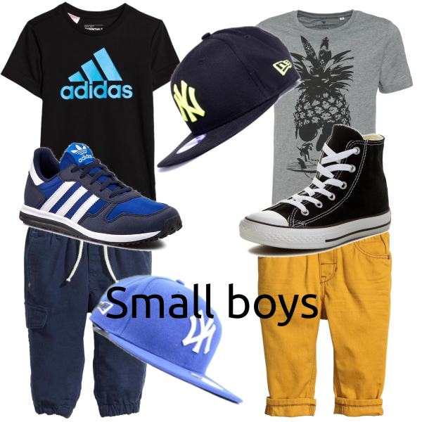 For small boys
