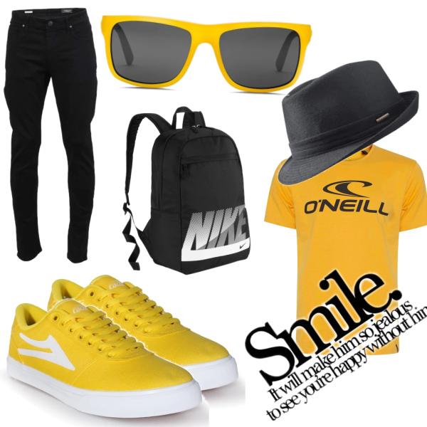 yellow smile